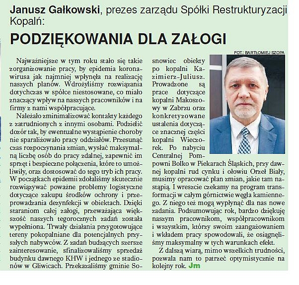 Trybuna Górnicza 1/2021